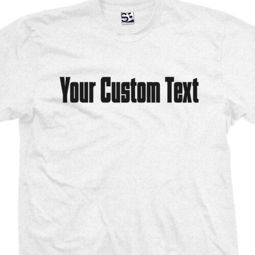Personalized Mafia Godfather Block Text Lettering Custom Gas Pipe Font T-Shirt