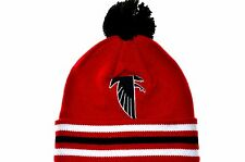 Atlanta Falcons Mitchell & Ness Throwback Vintage Knit Hat with Pom
