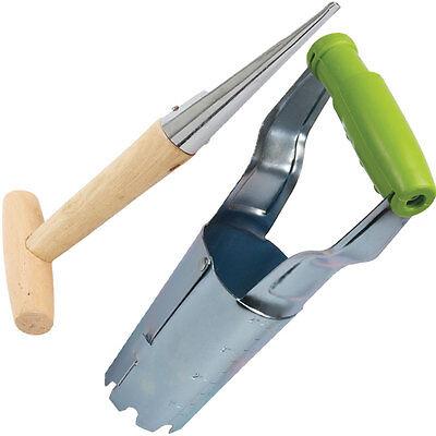 Jardin plantoir et ampoule planteur tool set jardinage hole maker