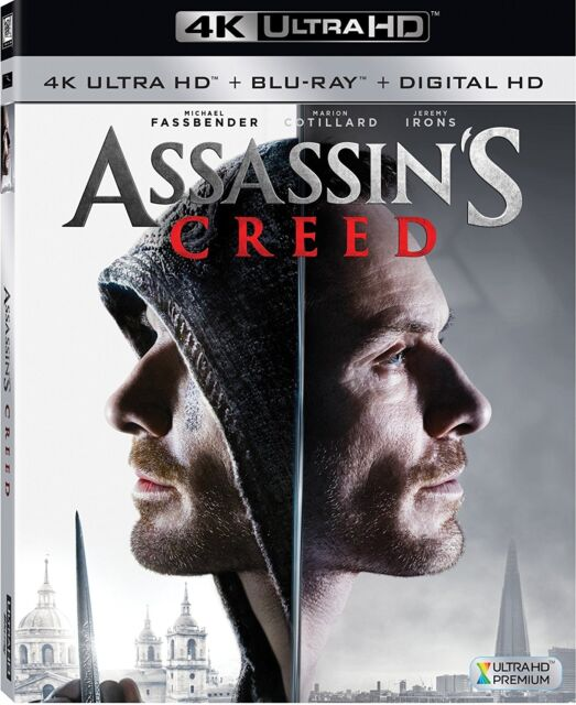 ASSASSINS' CREED (4K ULTRA HD) - Blu Ray - Region free