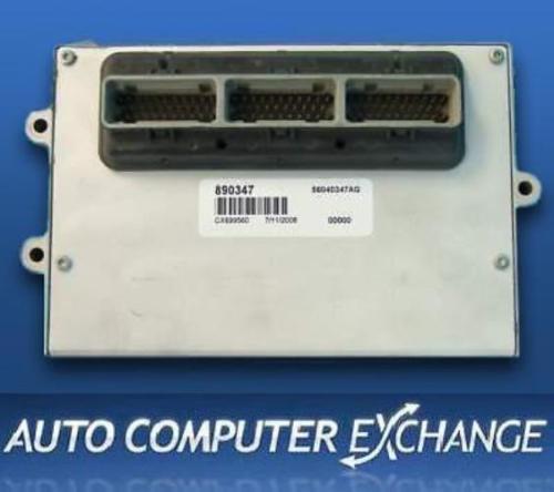 1997 DODGE RAM TRUCK 1500 2500 5.2L Gas Engine Computer Module ECM PCM ECU