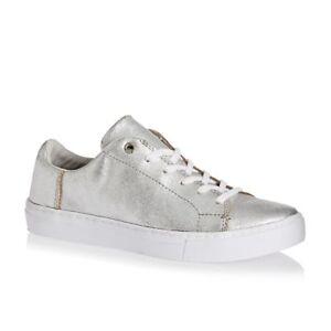 Comfort Shoes Clothing, Shoes & Accessories Nib Toms Lenox Baskets Blanc Argenté Cuir Métallisé Femmes Sz 6.5-8.5 Exquisite Craftsmanship;