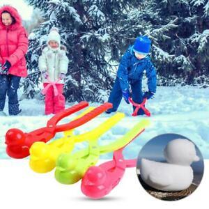 Duck-amp-Ball-Shaped-Snowball-Maker-Clip-Children-Outdoor-Sports-Snow-Sand-Mold-UK