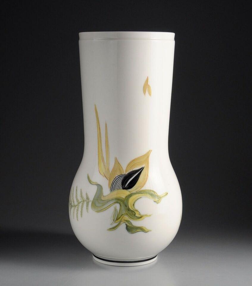 Vase, Pragtvase af Thorkild Olsen, Royal Copenhagen