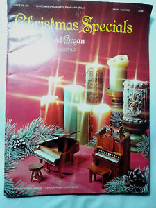 CHRISTMAS-SPECIALS-for-Piano-and-Organ-TEDD-SMITH-amp-DON-HUSTAD-SC-Book