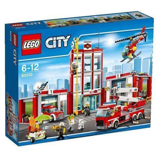 Lego 60110 - Estación de Bomberos - NUEVO