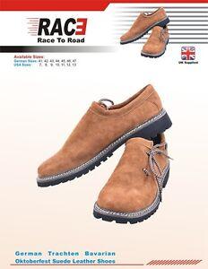 German Bavarian Oktoberfest Trachten authentic Lederhosen Real Leather Shoes