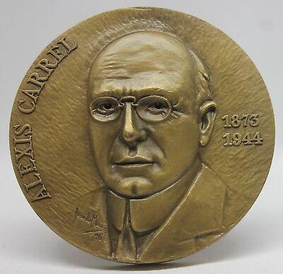 MEDICINE/ 1912 NOBEL PRIZE French Biologist ALEXIS CARREL Bronze Medal |  eBay