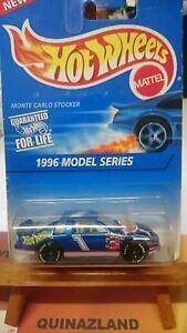 hot wheels Mainline 1996 série Model - Monte Carlo Stocker  collector 440 (9987)