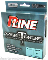 P-line Voltage Copolymer Clear Fishing Line 300 Yards Select Lb Test