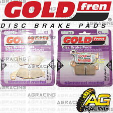 Goldfren S3 Brake Pads Front & Rear Kawasaki KX 250 2001 01 Motocross Enduro New
