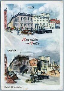 BERLIN GERMANY pre- & post- WAR 1933-1946 VINTAGE POSTCARD ...