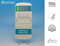 15 Pack 5 Panel Drug Testing Unit - Test For Five Drugs - Test At Home Or Work