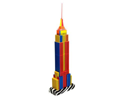 Paperlandmarks New York gratte-ciel Paper Model Kit