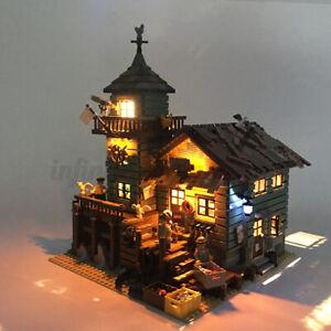 LED-Light-Lighting-Kit-ONLY-For-Lego-21310-Fishing-Store-Building-Blocks