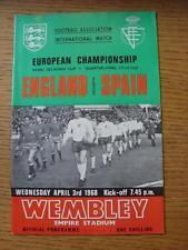03/04/1968 England v Spain  [At Wembley]