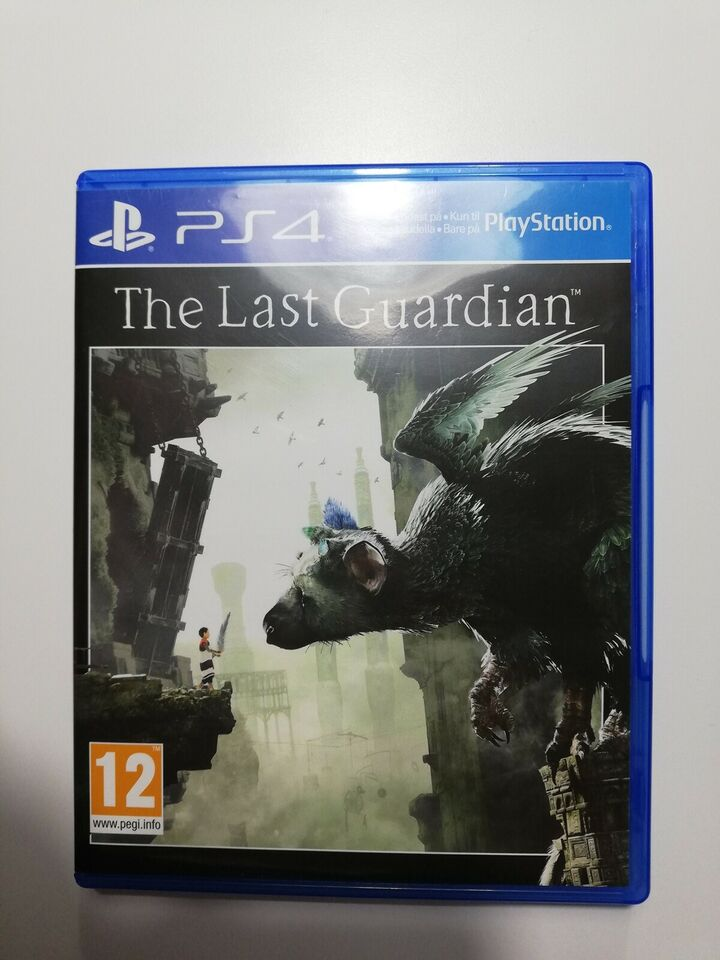 The Last Guardian, PS4, action