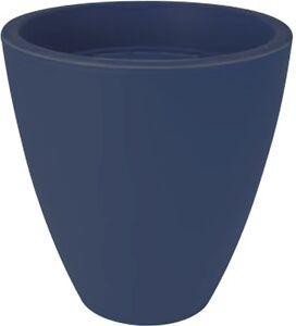 brillant color plastique grand rond plante pots. Black Bedroom Furniture Sets. Home Design Ideas