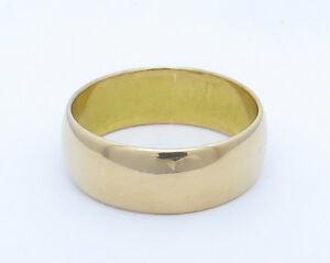 22 ct 22 k 916 Yellow Gold Wedding Band Ring  6 mm  Hallmarked  Excellent - London, United Kingdom - 22 ct 22 k 916 Yellow Gold Wedding Band Ring  6 mm  Hallmarked  Excellent - London, United Kingdom