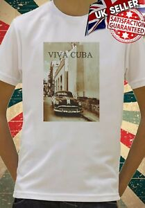 Viva Cuba Classic Car Retro Vintage Kids Boys Girls Unisex Gift T-Shirt 562
