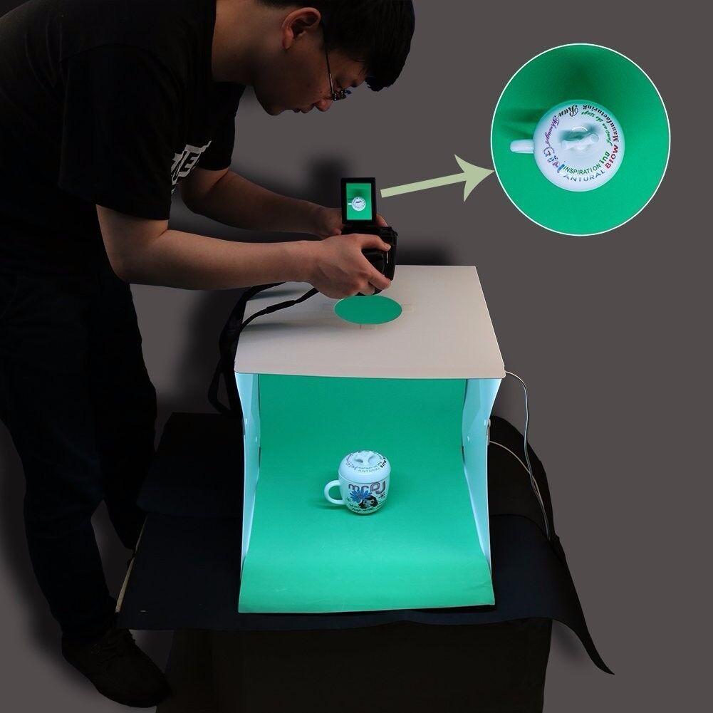 Portable Photo Studio Tent Light Box Photography DIY Mini Foldable Shooting T.. & Shooting Tables u0026 Light Tents  Lighting u0026 Studio  Cameras u0026 Photo
