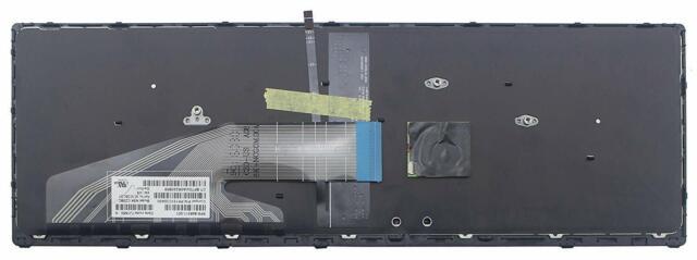 Geunine HP ZBook 15 G3 Mobile Workstation Backlit keyboard 848311-001 TESTED