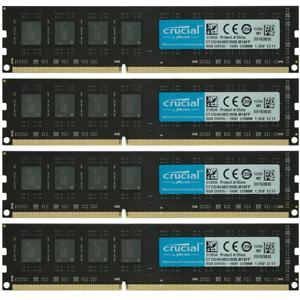 Crucial-32GB-4x8GB-PC3-12800U-DDR3-1600MHz-Dell-OptiPlex-9010-MT-DT-SFF-Memory