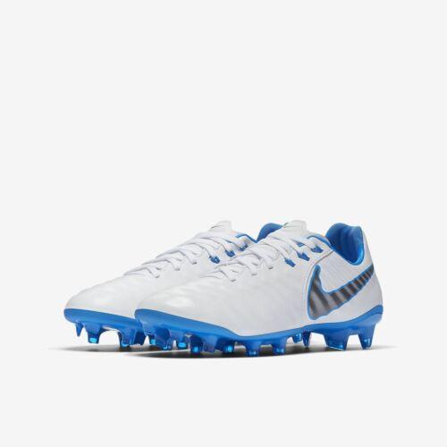 Nike JR Legend 7 Elite Football Crampons Enfant Taille 5.5 jeunesse Bleu Blanc AH7258-107