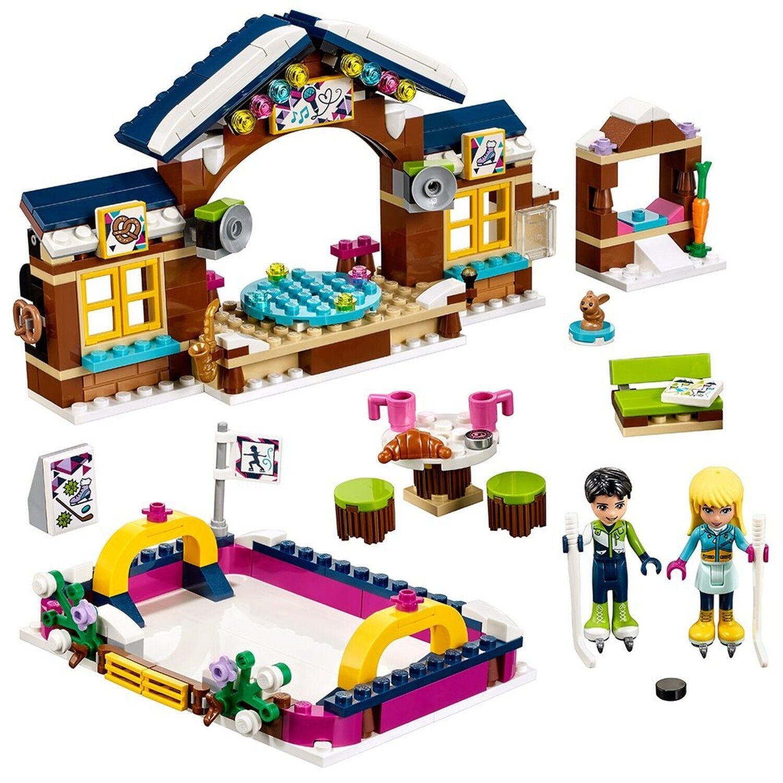 Kit De De De Construccion Friends Snow Resort Ice Rink 41322 (307 Piezas) dc7c24