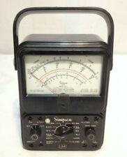 Simpson Electric Analog Multimeter 260 Series Afp 1 Untested Possible Repair