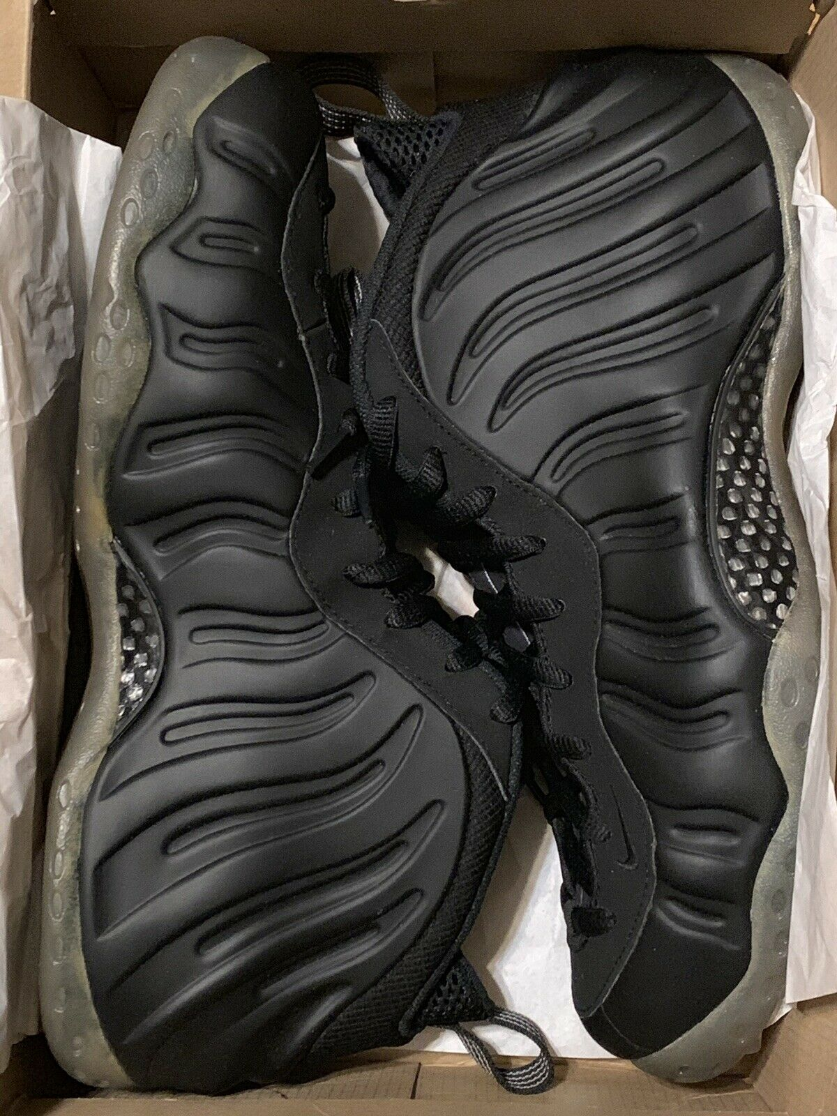 Nike Air Stealth Foamposite  Size 12