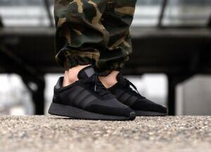 alivio oleada Por el contrario  New Adidas Originals I-5923 Running Shoes Athletic Boost Blackout Triple  Black   eBay