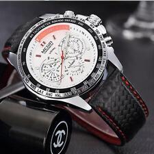Montre Sport Megir Neuve Bracelet cuir Homme Fashion Watch Promo