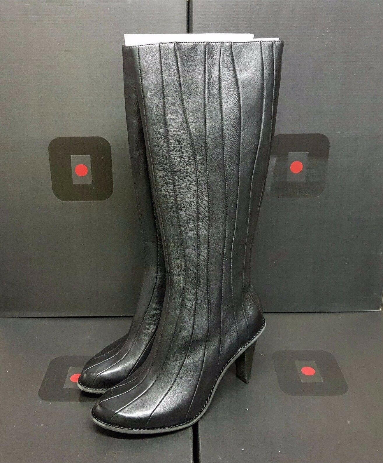 TSUBO  Kampot  damen Stiefel schuhe leather schwarz UK 3.5 US 5 EUR 36 (rrp  )
