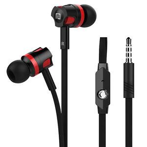 3-5mm-Kopfhorer-In-Ear-Ohrhorer-Bass-Stereo-Headphones-mit-Mikrofon-Gute-NEU