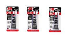 3 Pack J B Weld 31319 Rtv Silicone Sealant And Adhesive Black 3 Oz
