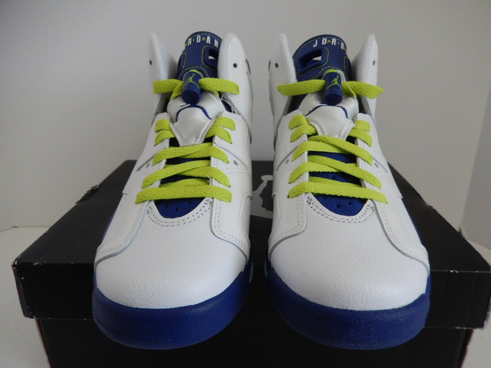 NIKE NIKE NIKE AIR JORDAN 6 RETRO GG SEATTLE SEAHAWKS SZ 4.5Y-WOMENS SZ 6 26ab9e