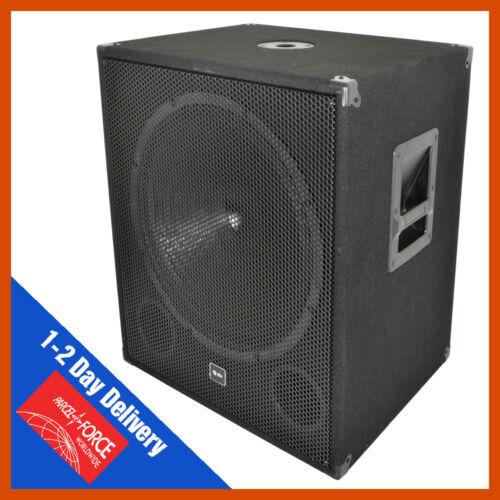 QTX Sound QT18S Bass Bin 18/'/' Sub Passive PA DJ Subwoofer QT 18S Single