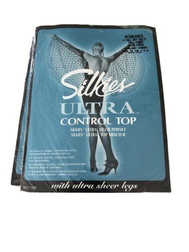 SILKIES ULTRA CONTROL TOP  Strumpfhose ultra sheen Panty Gr.L 42-46 honig