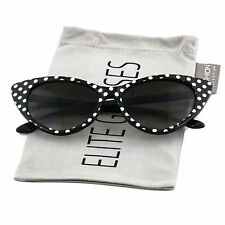 a77ffff266840 item 1 Retro Vintage Style Polka Dot Cat Eye Sunglasses Hollywood 50s 60s -Retro  Vintage Style Polka Dot Cat Eye Sunglasses Hollywood 50s 60s