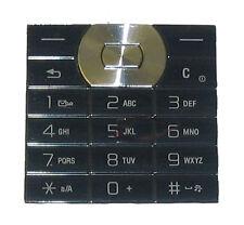 Botones De Teclado Para Sony Ericsson W350 W350i Negro Reino Unido