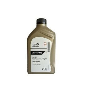 ORIGINAL OPEL Motoröl 0W20 Fuel Economy ACEA C5 API SN+ OV0401547   1 Liter
