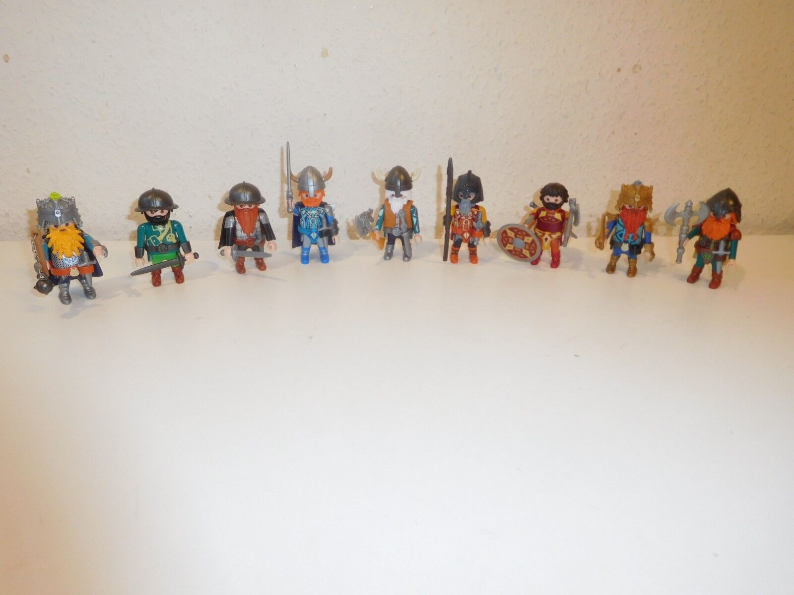 PLAYMOBIL lo gnomo Dwarfs Nani Knights cifras from 9345 9344 9341 etc 2