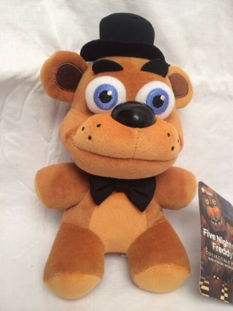 "New Authentic Five Nights At Freddy's FAZBEAR 8"" Plush Stuffed FNAF USA Seller"