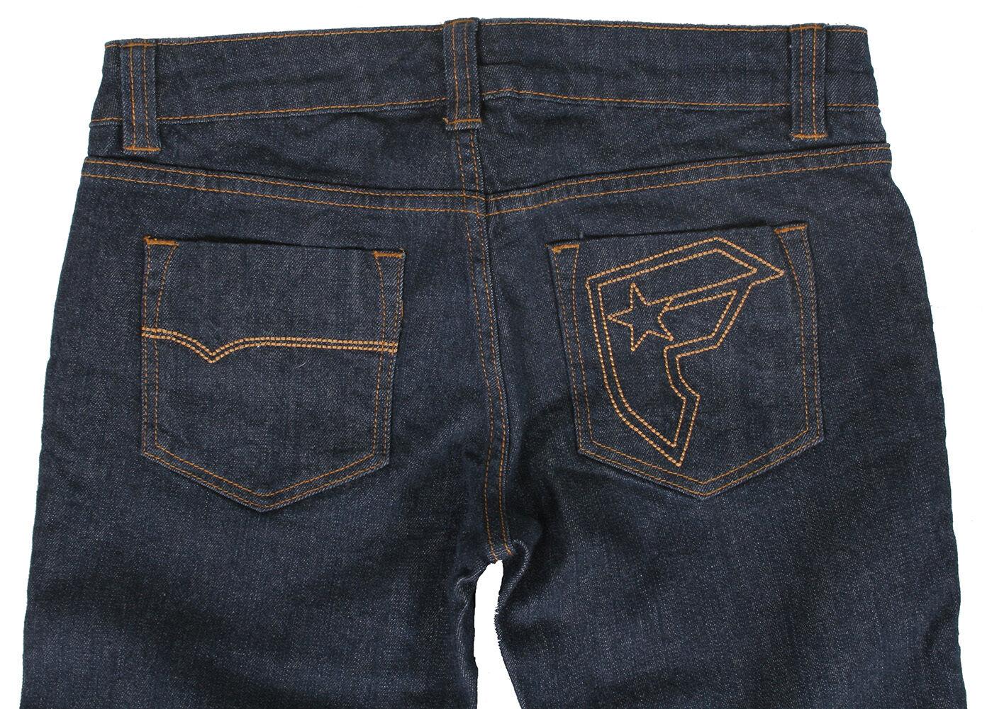 Famous Stars & Straps Damen Junior Indigo Jeans Blau Slim Fit Jeans 7 Nwt