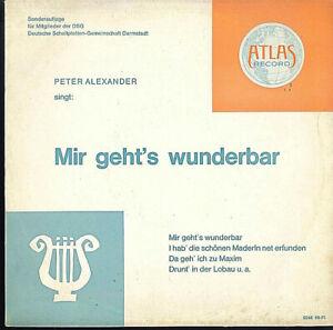 Peter Alexander – Mir geht's wunderbar