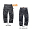Scruffs-3D-Pro-Pantalon-Trabajador-Workwear-oscuro-de-plomo-Grafito-Colourway-Plus-Comercio miniatura 11
