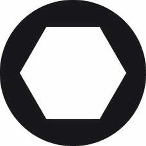 HAZET Steckschlüsseleinsatz 6-kant 1//4 10x mm HAZET Nuss Hazet Steckschlüsselein