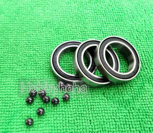 """1pc  R4-2RS SI3N4 Ball 1//4/"""" x 5//8/"""" x .196/"""" HYBRID Ceramic inch Bearing"""