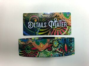 Zox-Strap-DETAILS-MATTER-915-Limited-Edition-New-Never-Worn-WHITE-STAR